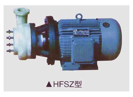 氟塑料泵(hfsz)