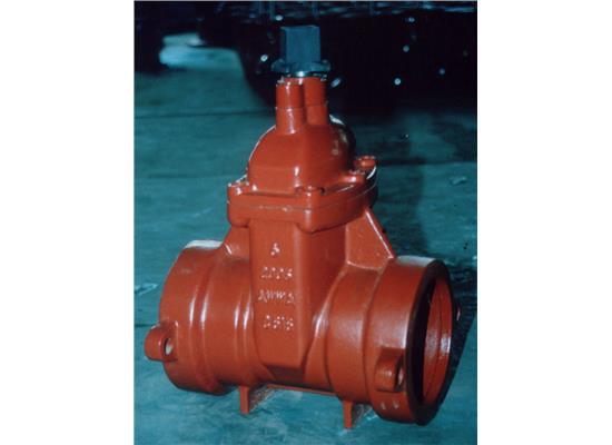 全表面喷塑橡胶密封泄流阀(AWWA C900 AWWAC515 DN50-DN400)