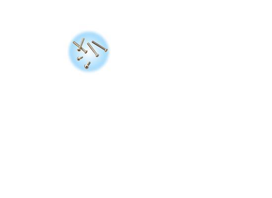 十字槽机螺钉(GB818/GB819)