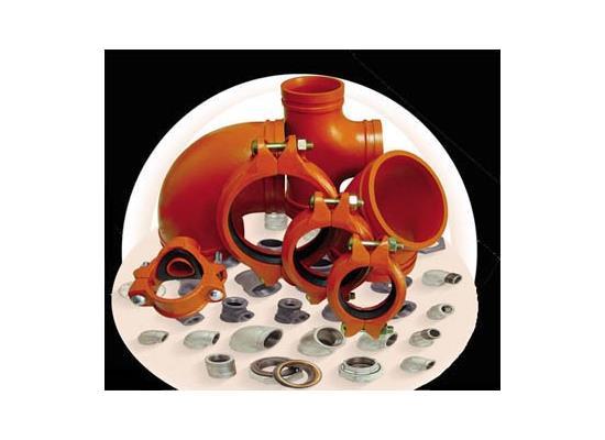 沟槽管件(消防管道专用)(DN-100)