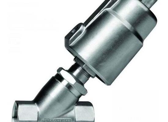 不锈钢气动角座阀(内螺纹连接)(内螺纹连接式)