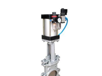 气动浆液阀 阀门 气动阀门(Z673X-16P)