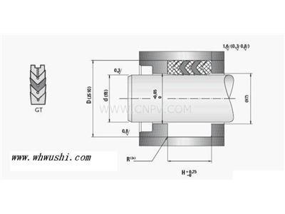 批v型组合密封圈价格,v型组合密封圈厂家(HG4—337—66)