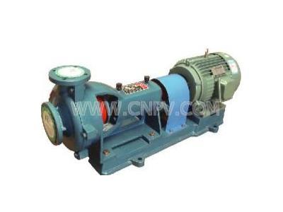 耐磨耐腐泵襯膠泵脫硫泵渣漿泵污水泵(80KFJ-38)