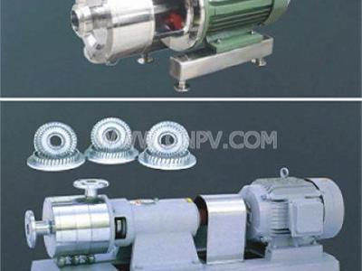 SRH高剪切均質乳化泵(強忠Qzm)
