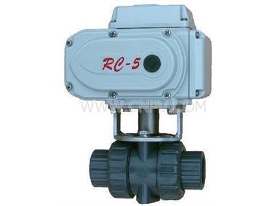 電動PVC球閥(Q911S-16)