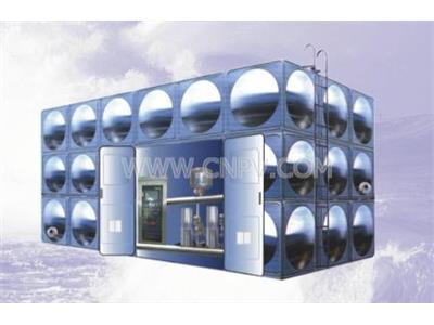 无负压智能化箱式泵站(SCGP)