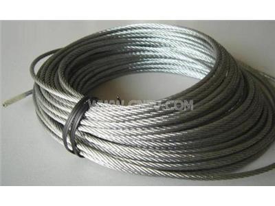 316不锈钢钢丝绳、316不锈钢包胶钢丝(316)
