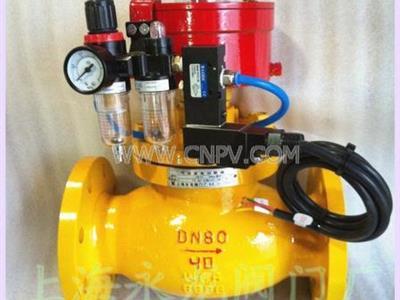 气动紧急切断阀、紧急切断阀、阀门厂家(QDQ421F-16/40C)