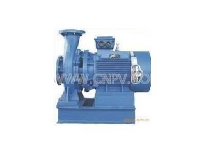 空调泵台湾源立空调泵卧式管道泵铸铁电动泵(KTX125-100-260)