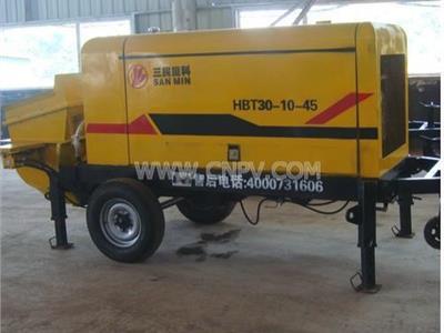 小型混凝土泵 细石混凝土泵 小骨料混凝土(HBT)