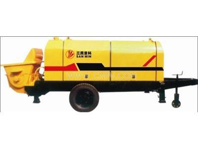 拖式混凝土泵 细石混凝土泵 矿用混凝土泵(HBT)