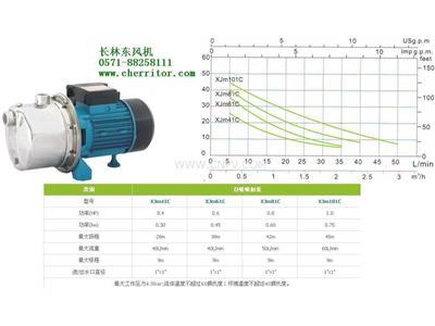 利欧水泵XJm41C自吸喷射泵浇灌泵(XJm41C)