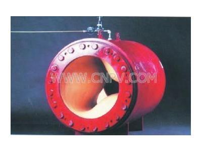 美国红阀气动管夹阀 进口大口径管夹阀(Megaflex)