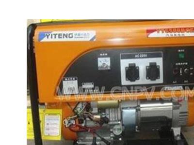YT6500DCE 5KW汽油发电机(YT6500DCE)