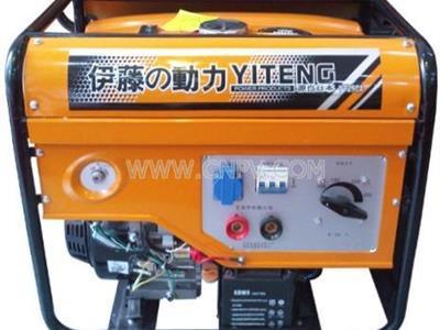 施工用汽油发电机带电焊机(YT250AE)