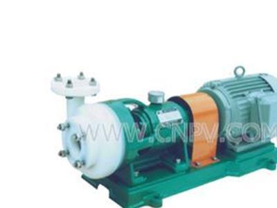 批发厂家优质供应氟塑料耐腐蚀泵(25FBS-18)
