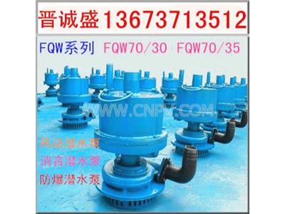 湖南湖北供应优质矿用防爆风动涡轮潜水泵(FQW70/35)