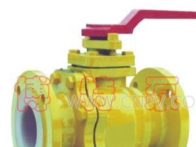 Q41F-10C襯氟球閥(Q41F-10C-20)