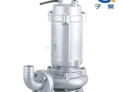 不锈钢316潜污泵,316材质潜污泵(65WQP25-20-3)