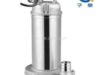 QDX型不锈钢潜水泵,不锈钢清水泵(QX10-12-0.55)