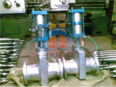 气动管夹阀(GJ641X)