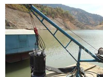 湖泊潜水清淤泵,吸泥泵,无堵塞浓浆泵(JSQ)