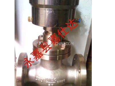 不銹鋼氣動緊急切斷閥-氨用氣動切斷閥(QDQ421F-25P DN50)