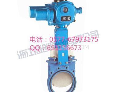 供應電動一體式漿液閥(GCU973X)