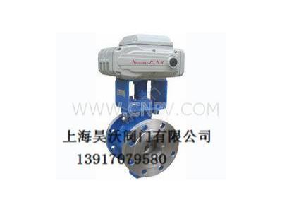 貴州ZQRV電動V型切斷球閥(ZQRV)