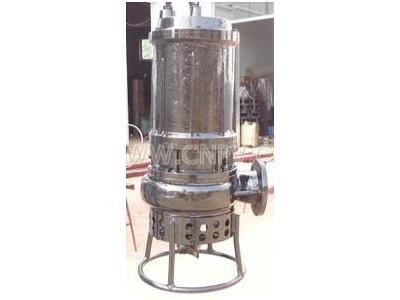 水库泥沙泵,潜水式吸泥泵,耐磨砂砾泵厂家(PSQ100-10-7.5)