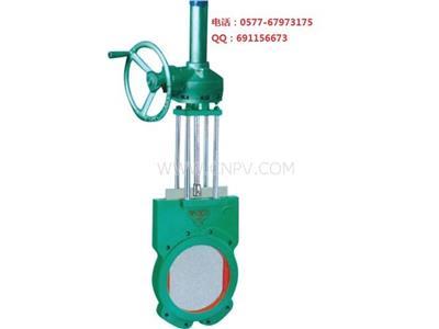 傘齒輪傳動漿液閥鑄鐵(Z573X)