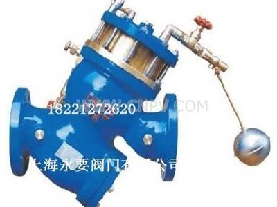 供应YQ98003过滤活塞式遥控浮球阀(YQ98003)