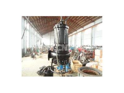 潜水式泥沙泵,搅拌吸泥泵厂(PSQ100-10-7.5)