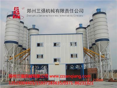 三强机械直销HZS120大型混凝土搅拌站(HZS120)