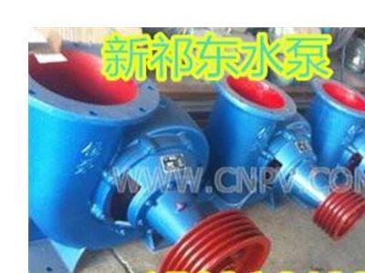 新祁东100HW-5卧式蜗壳混流泵排水泵(100HW-5)