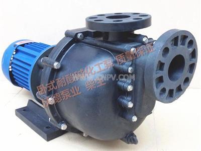 卧式工程塑料耐腐蚀化工泵(WDHW2200-50)