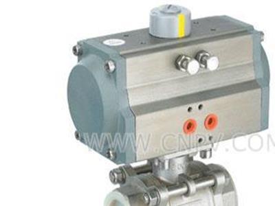 Q611H-25P气动螺纹球阀-高压阀(Q611H-25P气动螺纹球阀-高压阀)