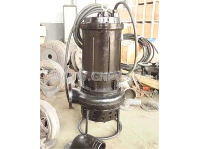 六寸鉆井吸沙用抽砂泵,無堵塞潛水排砂泵(JSQ)