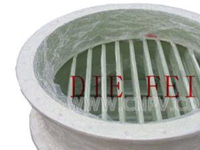 玻璃钢百叶阀(D341WR-10F)