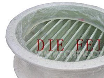 大规格玻璃钢百叶阀(D341WR-10F)