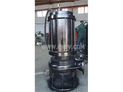 六寸钻井吸沙用无堵塞潜水排砂泵(JSQ)