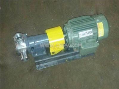 泊头2CY齿轮泵型号,泊头2CY齿轮泵厂(2CY3/2.5)