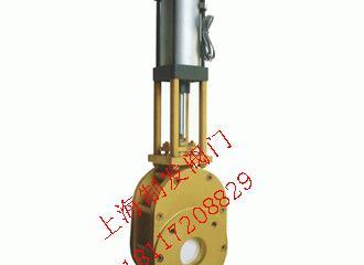 Z674TC-10C氣動陶瓷耐磨出料閥