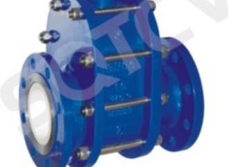 气动陶瓷双闸板阀