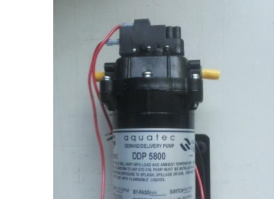 原裝進口AQUATEC DDP5800水泵隔膜泵