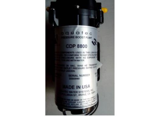 AQUATEC CDP6800/CDP8800增壓泵隔膜泵