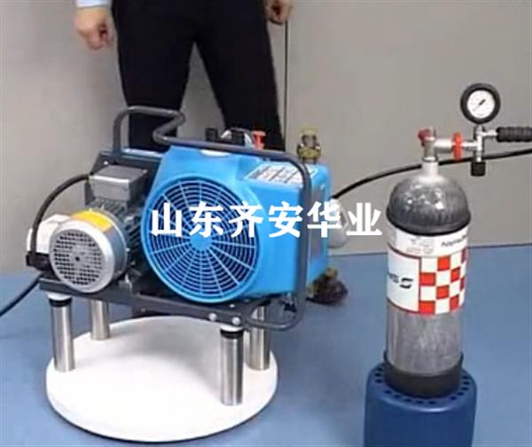 山东消防队专用JUNIOR II-E宝华充气泵呼吸器充气专用