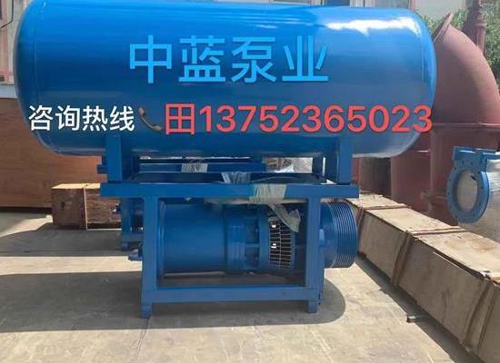 村镇排涝便捷式安装QSH中吸式潜水轴流泵 高品质轴流泵厂家