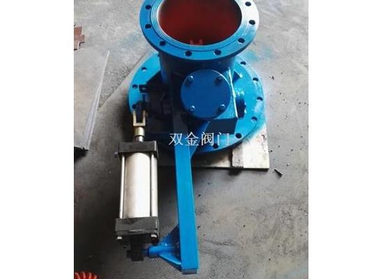 Q640X-4气动钟式卸灰阀
